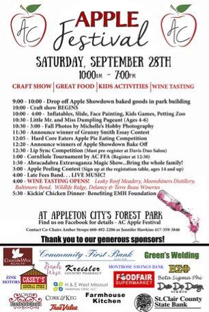 Apple Fest in Appleton City, MO