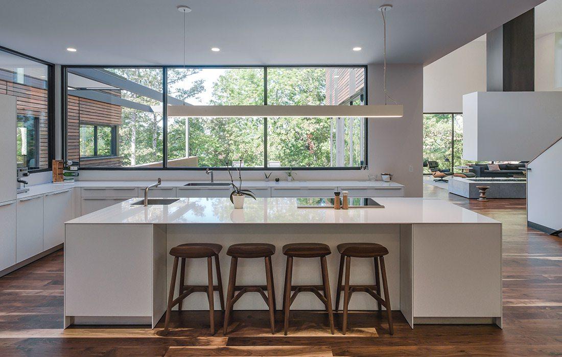 Interior Arkifex Studios design kitchen island