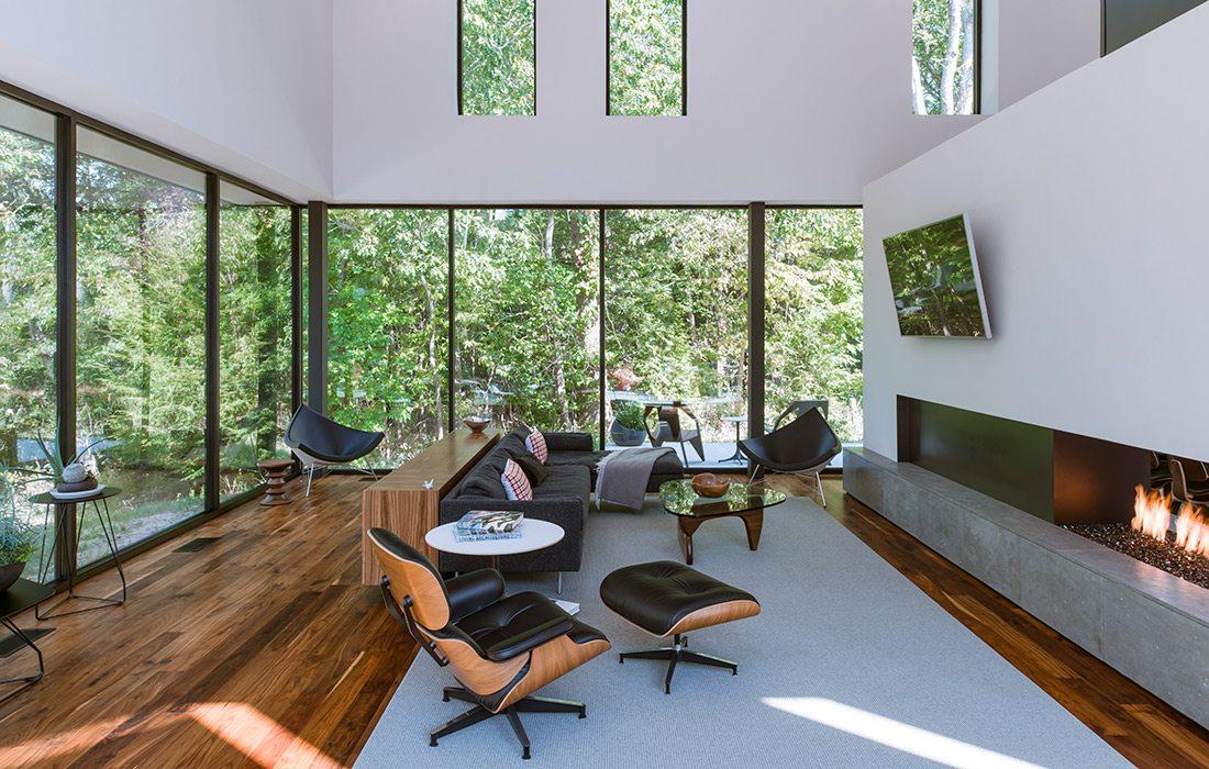 Interior Arkifex Studios design with seating