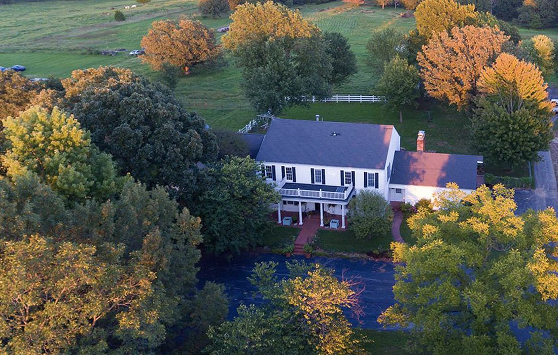Arial view of Arlie's Farm in Rogersville MO