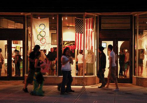 Attend Hollister's first ever First Friday Art Walk in Downtown Hollister, MO