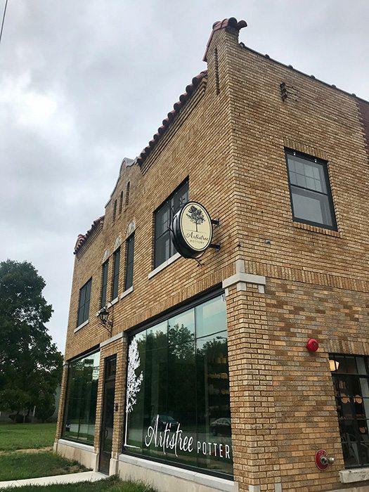 Artistree Pottery studio exterior in Springfield MO