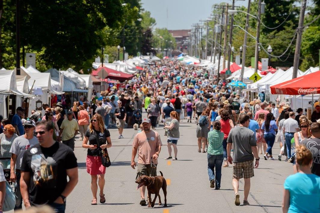Artsfest on Walnut, Springfield, MO