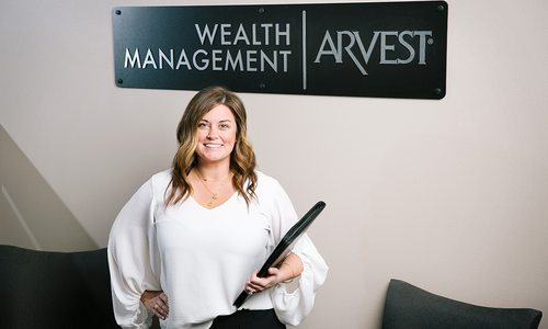 Sarah Russell with Arvest Bank's Wealth Management Services