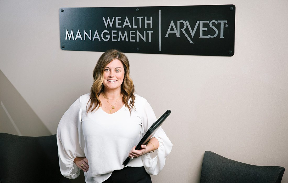 Sarah Russell, Senior Vice President and Trust Wealth Advisor for Arvest Wealth Management