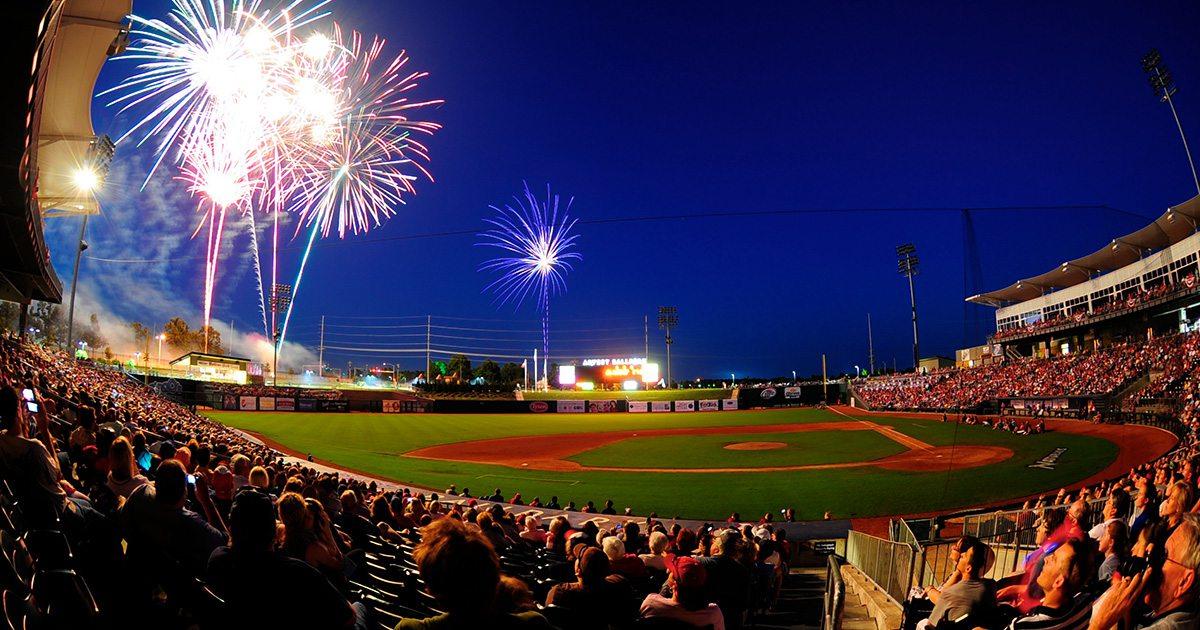 Arvest Ballpark in Springdale AR