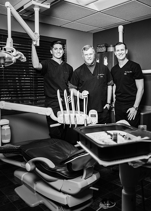 Brandon Kratz, Jeffrey Dorman and Derek Magers of Ascend Dental Design in Springfield MO
