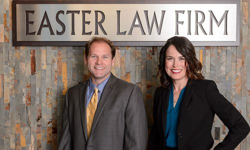 Attorneys Joe Easter, Cheryl P. Hom