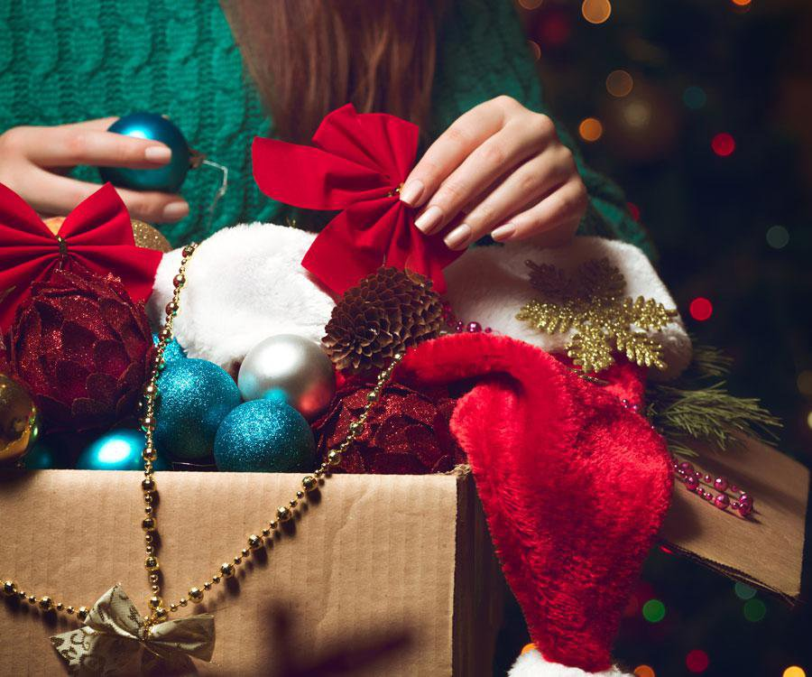 Tips for storing holiday decor.