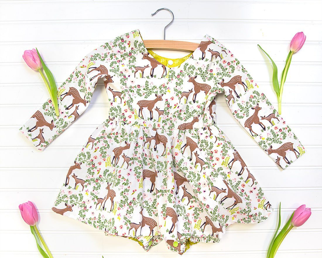 Juniper Jo Romper for Toddlers