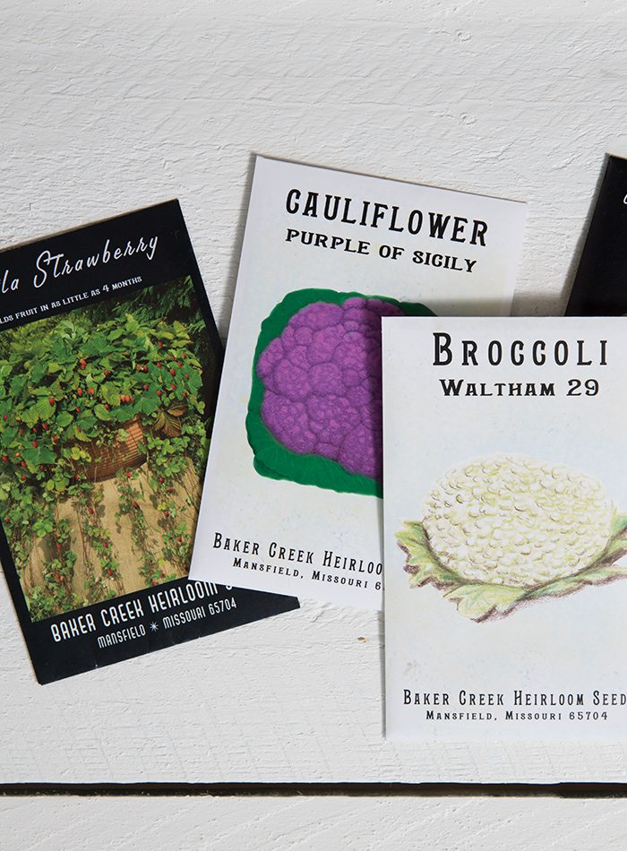 Baker Creek Heirloom Seed Packets