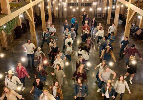 Barn dancing in Branson, MO