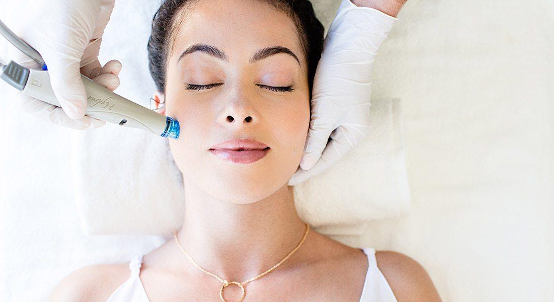 Hydra-Facial treatment