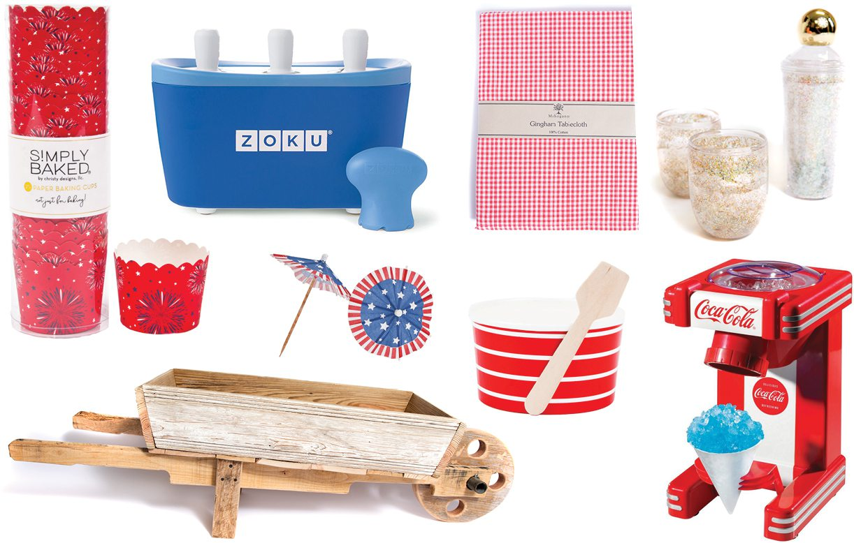 Fourth of July entertaining accessories