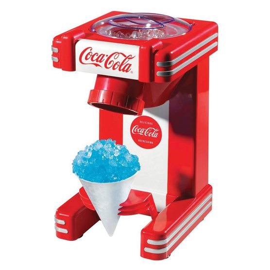 Nostalgia Electrics Coca-Cola snow cone maker at Everything Kitchens