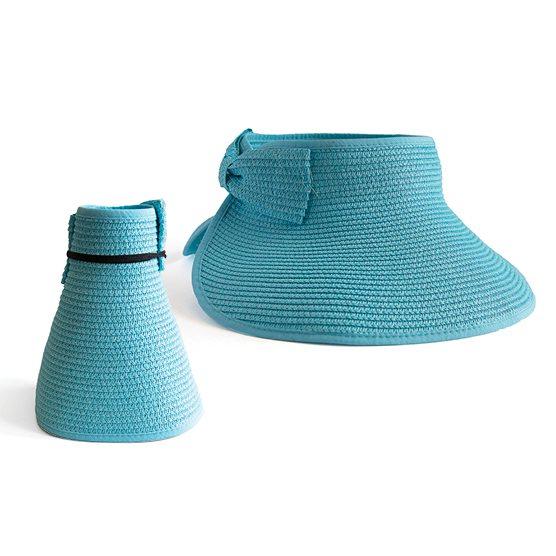straw visor