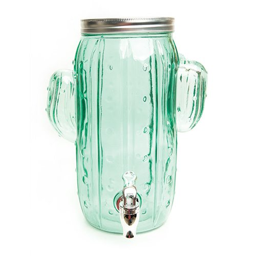 cactus drink dispense at Baglady Boutique