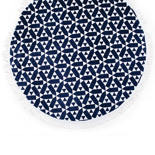 SunnyLife Castillo Round Towel at Five Pound Apparel
