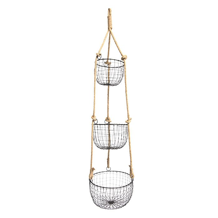 Three-Tiered Hanging Basket from Everything Kitchens