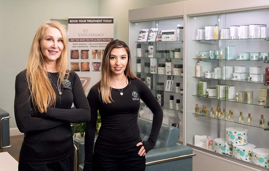 Clementine Bentley and Cristy Rodriguez of Bentley Skincare and Wellness in Springfield MO