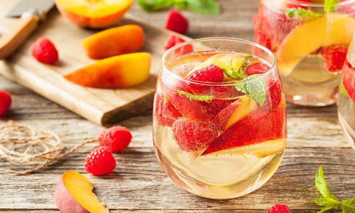 Berry-Peach Sangria