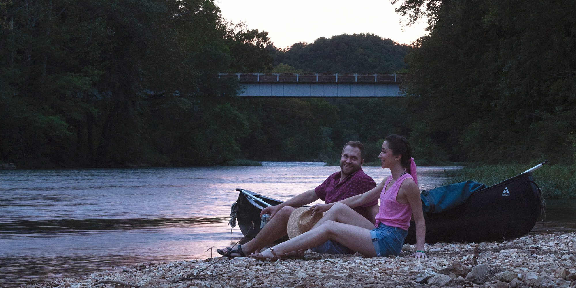 Float the James River near Springfield Missouri