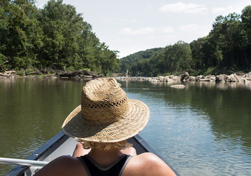 Canoe or float the North Fork in Missouri