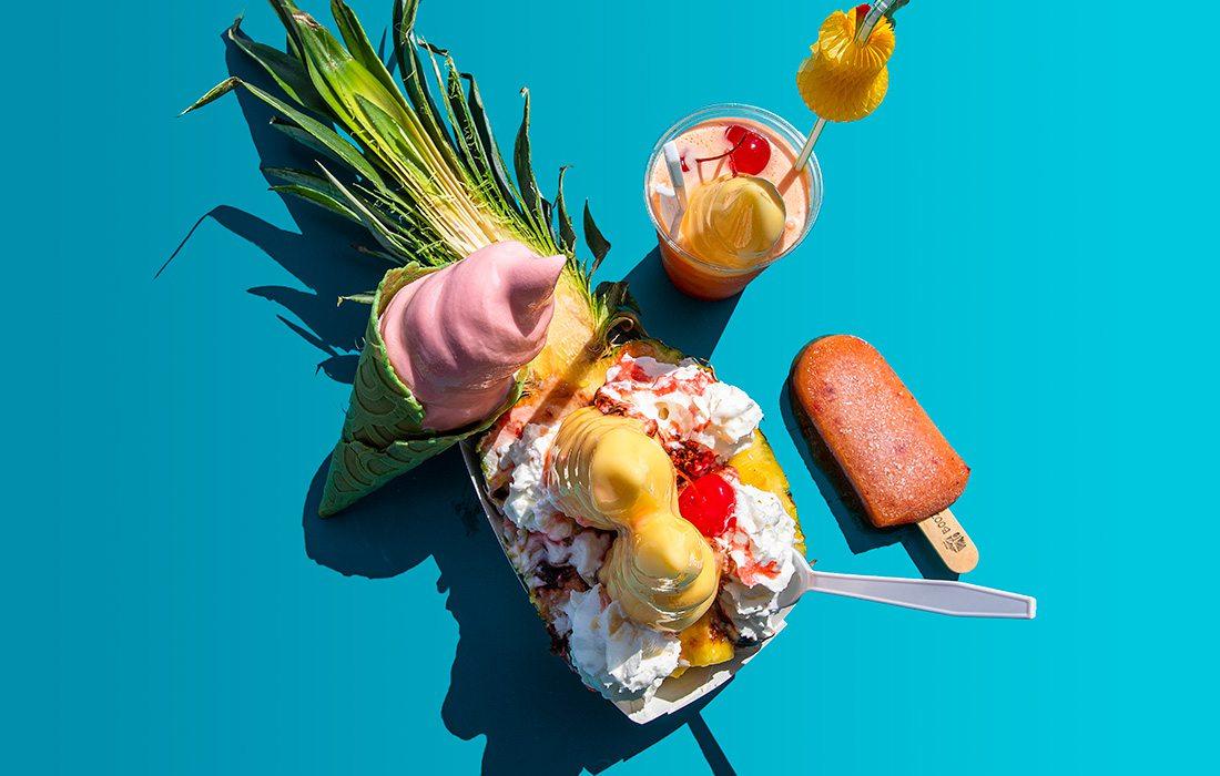 Fruit treats from Pineapple Bliss in Joplin MO