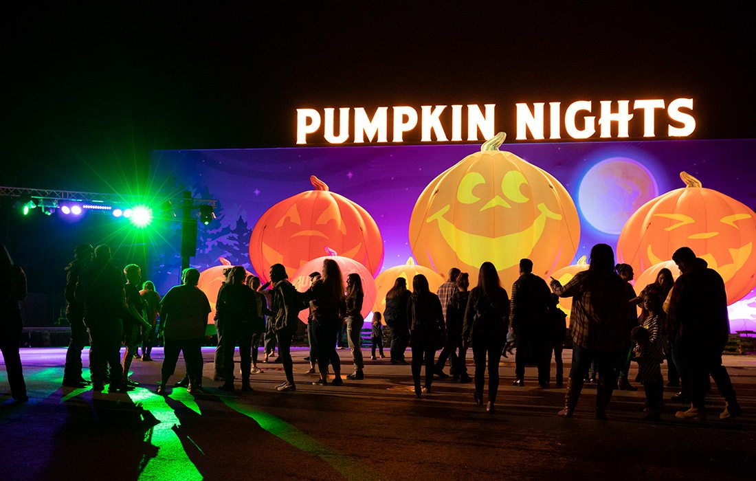 Pumpkin Nights at Silver Dollar City in Branson, MO
