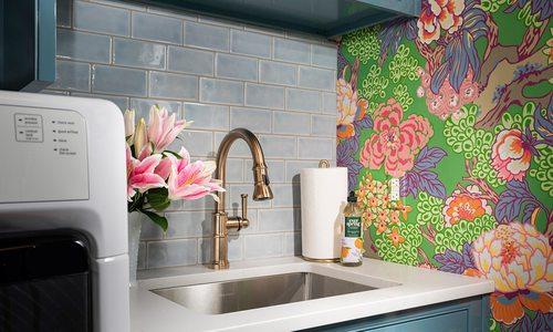 Remodeled bathroom from 2021 Design Awards