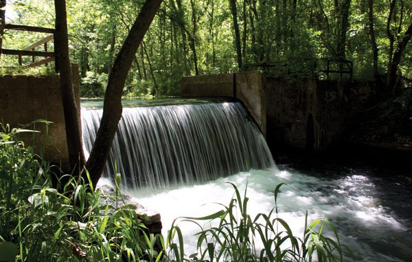 Waterfall at Althea Spring