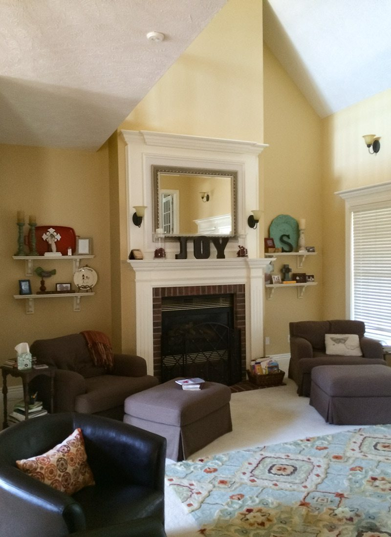 Best Living space before renovation