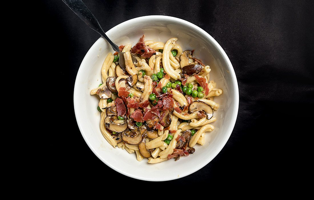 Homemade pasta at Salvatore's Fresh Ristorante Italiano in Springfield, MO