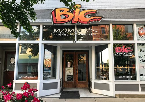 Big Momma's Coffee & Espresso Bar on Commercial Street in Springfield MO