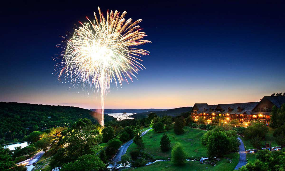 New Year's at Big Cedar in Branson, MO
