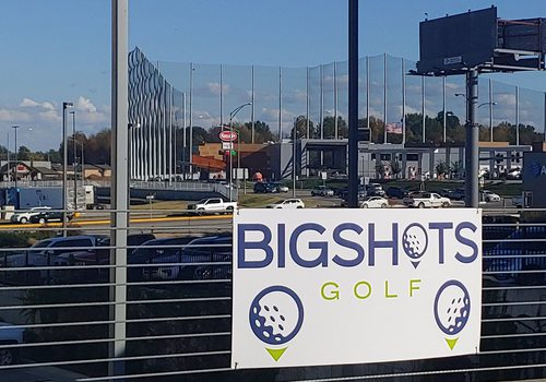 Nets at BigShots Golf