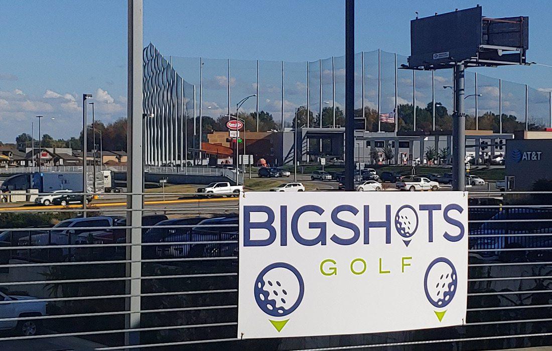 Nets at BigShots Golf