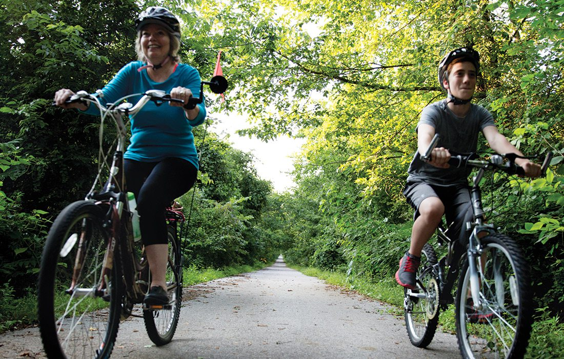 Biking the Frisco Highline Trail in Springfield MO