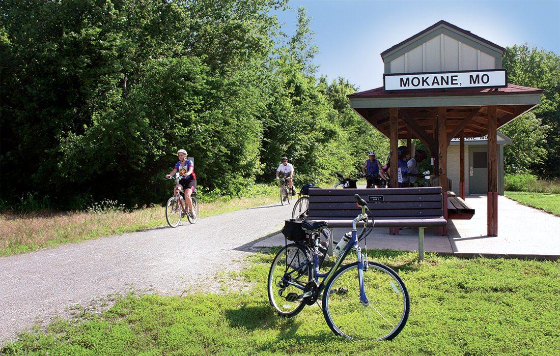 Biking the Katy Trail in Missouri
