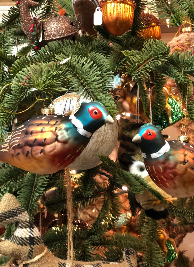 Bird tree ornaments