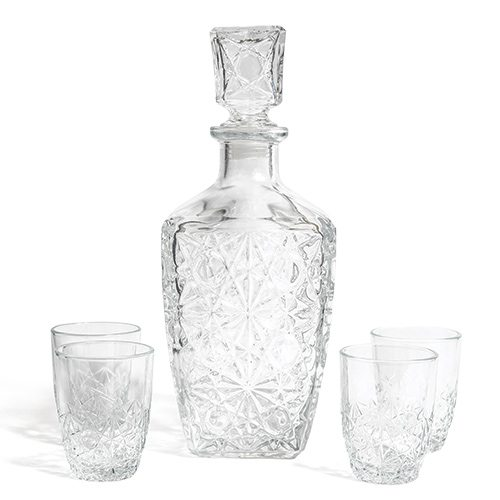 Bormioli Rocco decanter and glass set at Everything Kitchens
