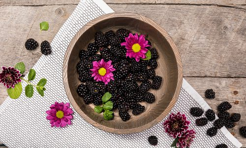 Fresh Black Berries