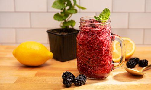 gin berry slushie