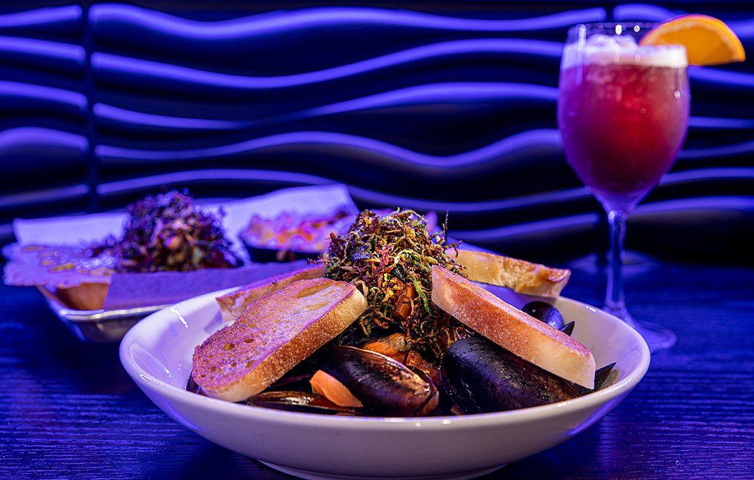 Mussels dish at Blackstone Gastropub Joplin MO
