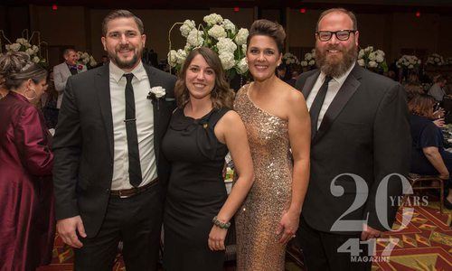 2018 Springfield Black Tie Gala benefiting local and statewide charities serving the LGBT community