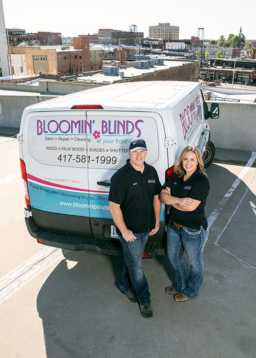 Bloomin Blinds owners