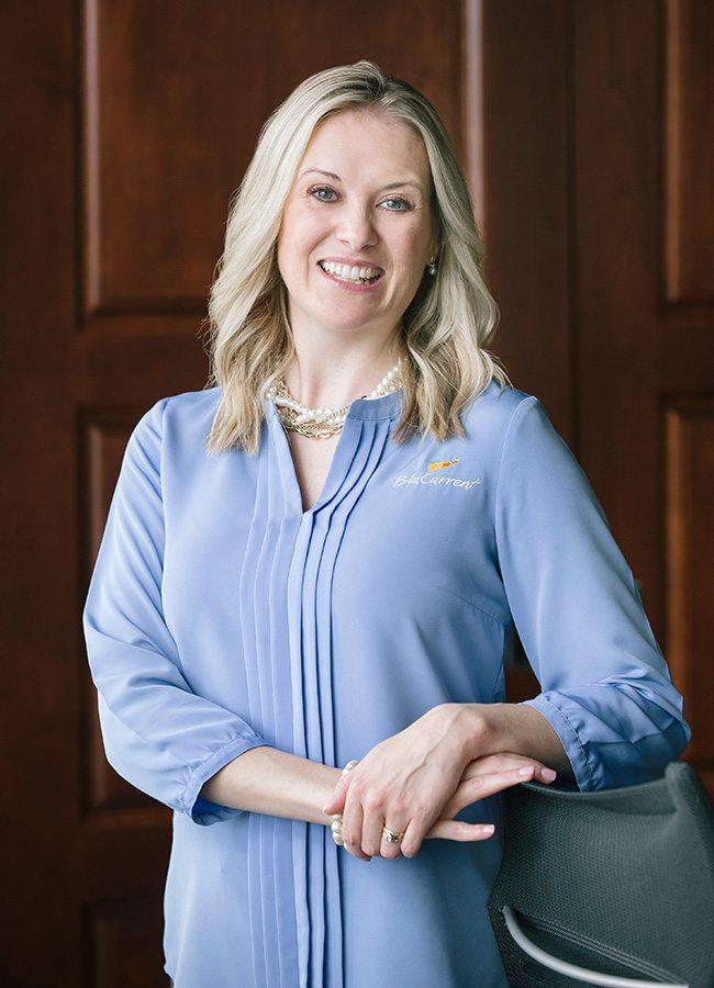 Caroline Richardson, Blucurrent Credit Union