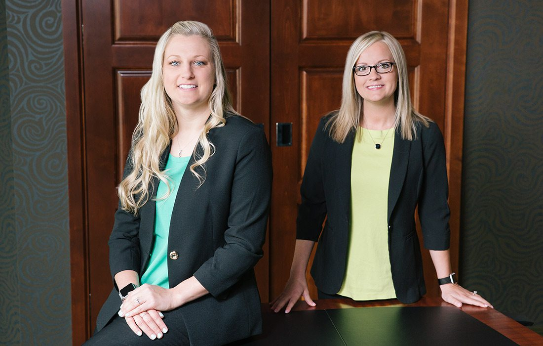 deAnna Downs & Hannah McCaig, Blucurrent Credit Union