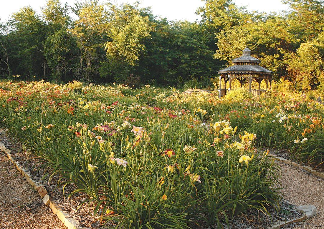 Springfield Botanical Garden in Springfield, MO