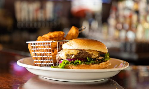 Burger at Bourbon & Beale